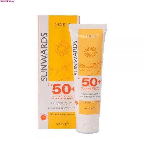 Sunwards Face Fluid Emulsion SPF 50+