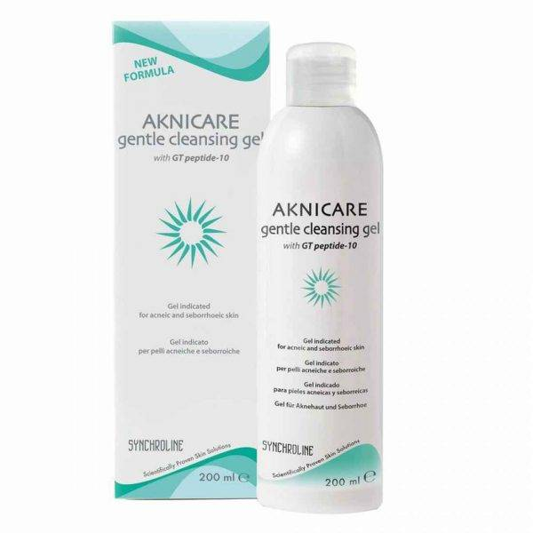 Synchroline Aknicare - gentle cleansing gel