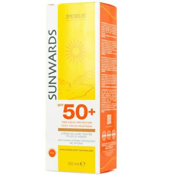 Sunwards Face Cream Teintee SPF 50+