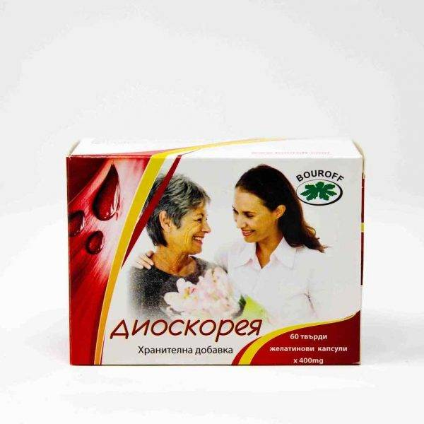 Dioscorea - 60 capsules x 400 mg