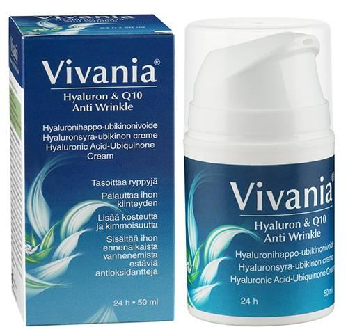 Vivania Hyaluron & Q10 anti wrinkle cream 50ml