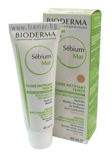 BIODERMA Sebium Mat Fluide 40 ml.