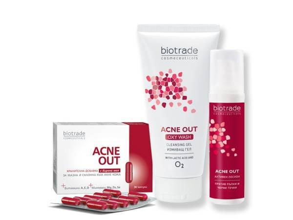 ACNE OUT ACTIVE CARE