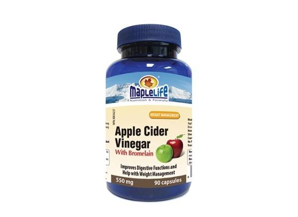 Apple Cider Vinegar with Bromelain 550 mg