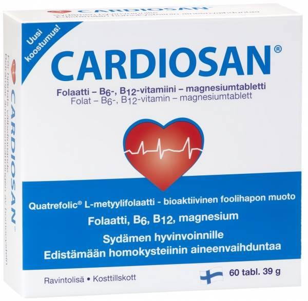Cardiosan 60 tabs