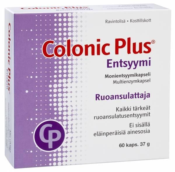 Colonic Plus Entsyymi 60 caps
