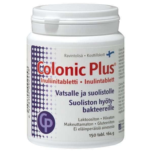 Colonic Plus Inulin 150 tabs