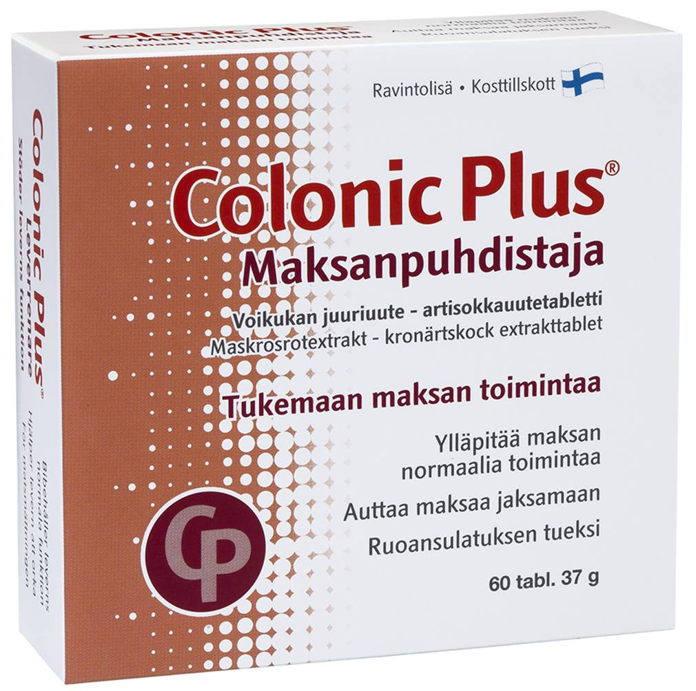 Colonic Plus Liver Cleanser 60 tabs