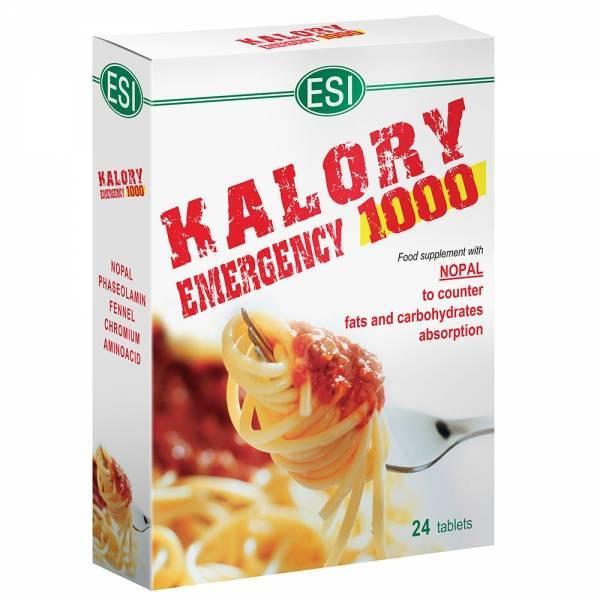 Kalory Emergency 1000 - 24tabs