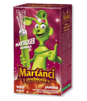 Martians with Prebiotics - forestberry flavour