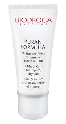 Puran 24 Hour Care for impure dry skin