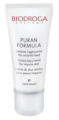 Puran Tinted Day Cream for impure skin - Sand Touch