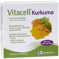 Vitacell Kurkuma 40 tabs