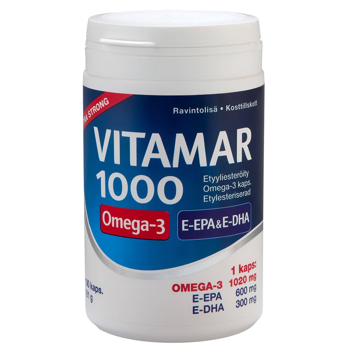 Vitamar 1000 - 100 caps