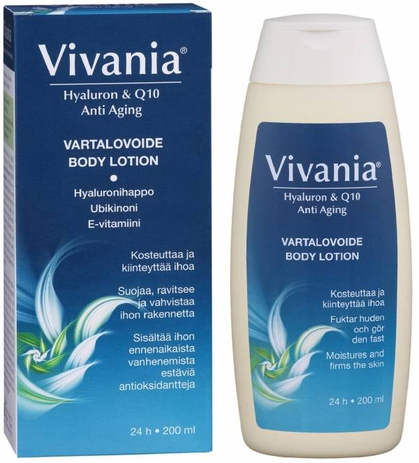 Vivania Hyaluronic and Q10 body lotion 200ml