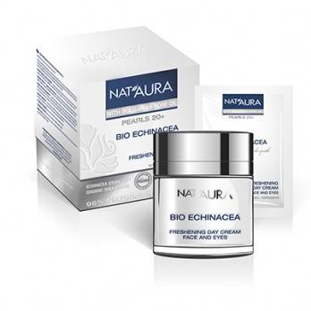 "Day cream for face and eye contour ""NAT'AURA"" 20+"