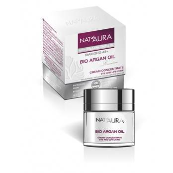 "Cream concentrate eye and lips zone ""NAT'AURA"" 45+"