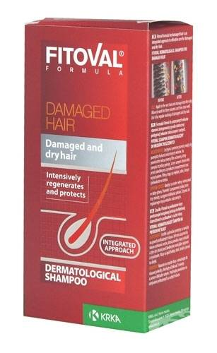 Fitoval Shampoo For Damaged Hair 100 ml