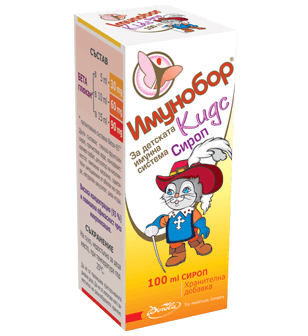 Imunobor Kids Syrup 100 ml