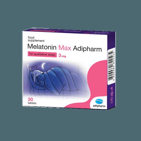 Melatonin Max Adipharm 3mg
