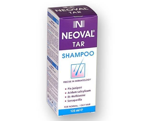 Neoval Tar Anti Dandruff Shampoo