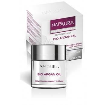 """Revitalizing night cream """"NAT'AURA"""" 45+"""