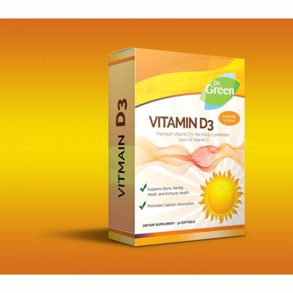 VITAMIN D3 - Dr. Green