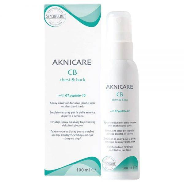 Synchroline Aknicare Chest and Back 100 ml