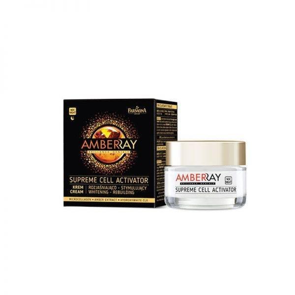 Farmona Amberray Whitening Rebuilding Night Cream