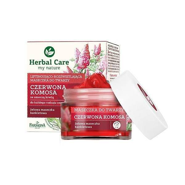 Farmona Herbal Care Face Mask Lifting Gel - Instant Red Quinoa Mask