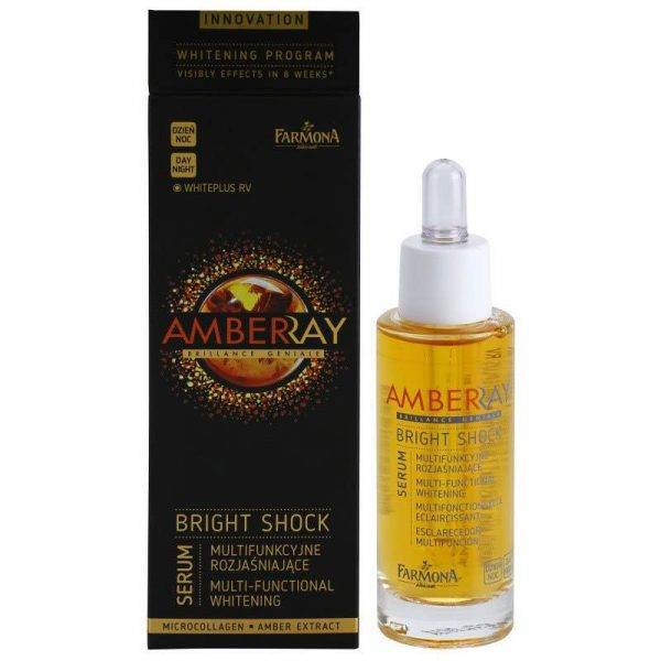 Farmona Serum Amberray Whitening Bright Shock with Amber