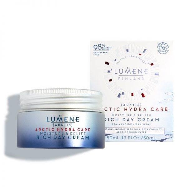 Lumene arctic hydra care Moisture and Relief Rich Day cream