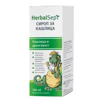 HERBALSEPT Cough and hoarseness syrup x100ml